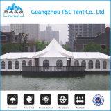 20m Outdoor Clear Marquee Cube Tente pour mariage et cérémonie