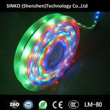 Luz de tira flexível impermeável para o Natal, DJ do diodo emissor de luz de 5050 RGB, barra, disco da mostra dos eventos