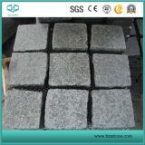 G684 Basalte, basalte noir, granit sombre pour pavé / pierre cubique / pavé
