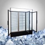 Große Getränk-Kühlvorrichtung mit 3 Türen