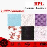 4 ' laminado de x8 HPL para el vector