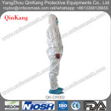 Nicht gesponnener PP/PP+PE/SMS/Microporous schützender Overall