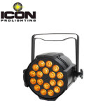 Etapa RGBW LED PAR la luz con 18*10W