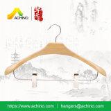 Combinação de luxo cabides de madeira (ACH301)