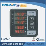 Gv57 AC300-450Vの発電機のデジタルパネルメーター