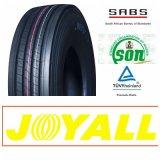 Pneumático superior 315/80r22.5 do caminhão do projeto da roda do boi da qualidade do tipo de Joyall, 12r22.5, 11r22.5, 295/80r22.5