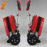 Rojo elegante de la manera del fabricante de China plegable la vespa eléctrica de tres ruedas