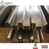 Cubierta de suelo de acero constructiva del metal estupendo