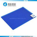 Feuille de toiture de PC de polycarbonate de mur de jumeau de matériau de construction