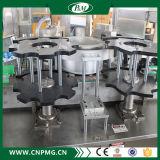 フルオートのプラスチックペットびんOPPの熱い接着剤の分類機械