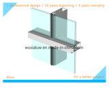 Pared de cortina Semi-Visible de cristal colorida