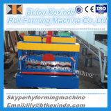 828 Telhado de aço máquina formadora do Rolo de ladrilhos vidrados