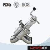 Тип клапан нержавеющей стали ручной одиночного места диверсии подачи (JN-FDV2002)
