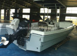 le bateau de pêche japonais de Panga de 6.85m FRP Hangtong Usine-Dirigent