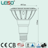 Reflector de 15W Scob Chip CREE LED PAR30 regulable (LS-P718-BWWD/BWD)