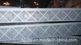 Pièces de précision de usinage oxydées d'aluminium argenté