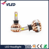 Farol branco elevado do diodo emissor de luz do carro C5 H7 H11 H4 do lúmen 7200lm