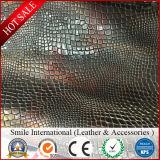 Вышивка Китая делает по образцу кожу PVC искусственной кожи