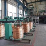 Kupferner Rod-aufwärts Gussteil-Maschinen-kupferner Draht-Produktionszweig