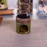 Calentador de la cera de la cera Ceramic Candle Holder Quemador del difusor del aceite / calentador Aromatherapy