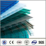 Feuille creuse de PC de la feuille 3.0mm-11.8mm de polycarbonate de Jumeau-Mur de Foshan