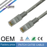 Sipu Factory Price UTP Cat5e Patch Cord Cable de communication pour ordinateur
