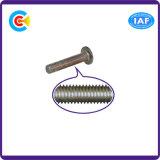 Винт плоской головки шестиугольника углерода гальванизированный Steel/4.8/8.8/10.9 для крепежных деталей машинного оборудования/индустрии