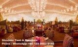 Tienda de Pasillo de la boda de 1000 personas con el techo de la cortina de la guarnición de la decoración