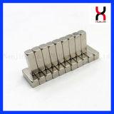 Block-Magnet mit Nickel-Beschichtung