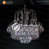 Antigüedades tradicionales Classic Luxury candelabros de cristal de plata de luz para Restaurante Japonés Ow146