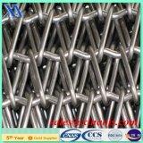 Ss 304 banda transportadora a prueba de calor del acero inoxidable 316 316L para el pan