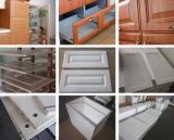 Porte personnalisée de Module de cuisine de dispositif trembleur de forces de défense principale de laque en bois solide de PVC