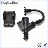 De Houder van Smartphone van de auto met de Lader van de Aansteker USB (xh-uc-033)