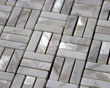 Mosaico de agua dulce 10*30 del shell y del mármol