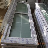 Het Plastic Frame die van pvc de Ontwerpen van de Deur van het Glas van het Comité behandelen