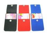 선전용 3m 접착제 실리콘 지능적인 지갑 유명한 카드 홀더, 카드 주머니를 방수 처리하십시오