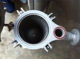 Singola custodia di filtro della cartuccia del sacchetto dell'acciaio inossidabile dell'entrata sanitaria della parte superiore