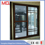 Double fournisseur en aluminium de verre de porte coulissante de constructions commerciales