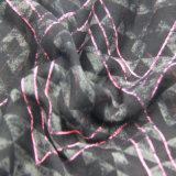 Розовый шарф полиэфира печатание для шали повелительниц вспомогательного оборудования способа женщин