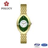 Dame-Fantasie-späteste Armbanduhren für Mädchen-kundenspezifische Quarz-Handuhr