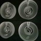 De transparante Ringen van het Kwarts van het Kiezelzuur van het Glas van het Kwarts Ringen Gesmolten