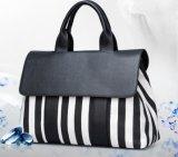 Дамы сумочку ручной сумки реплики высокого качества дамской сумочке черный и белый горячий продавать плечо Lady Bag простых женщин Bag женщин Bag Lady дамской сумочке (WDL0115)