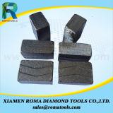 Segmentos de Diamante Romatools para betão de basalto de arenito de granito