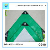 東アジアの市場の耐火性のプラスチック屋根ふきカバー本管のための深緑色の&Gray PEの防水シート