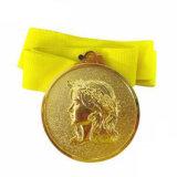 Kundenspezifische Fabrik-preiswerte Goldmetallmedaille