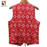 Het Hotsale Afgedrukte Vest van de Slijtage van de Kleren van het Vest van Kerstmis