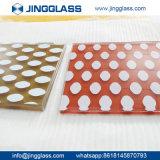 Fabricante de cerámica de cristal revestido de cerámica de cristal del vidrio Tempered de la impresión de la pantalla de seda