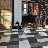 Surface de plancher de carrelage en céramique en vinyle pour salle de lecture