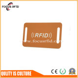 Microplaqueta MIFARE 1K do plástico RFID Keyfob Hf/UHF