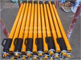 La construcción de Material de acero andamios apuntalamientos ajustable Prop / tubo de soporte utilizado en la construcción